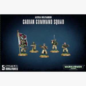 40K Astra Militarum Cadian Command Squad