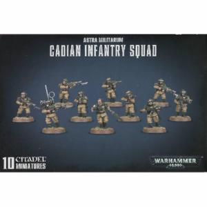 40K Astra Militarum Cadian Infantry Squad