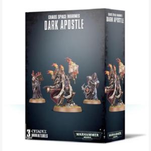 40K Chaos Space Marines Dark Apostle