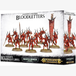 40K Daemons of Khorne Bloodletters of Khorne