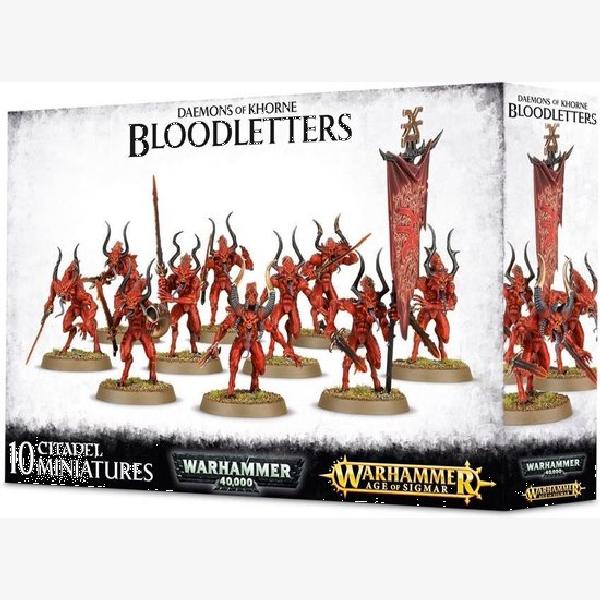 40K Daemons of Khorne Bloodletters of Khorne