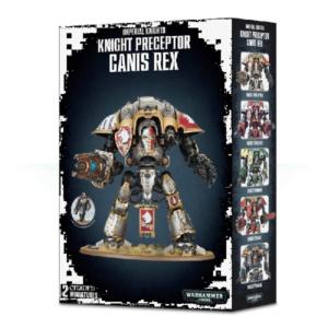 40K Knight Preceptor Canis Rex