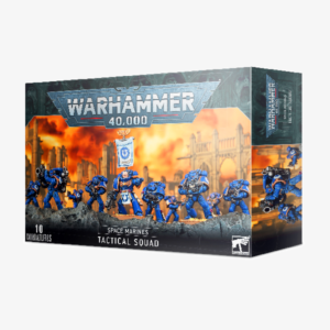 40K Space Marines Tactical Squad