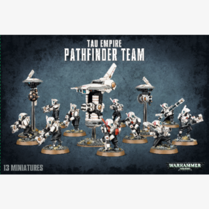 40K Tau Empire Pathfinder Team