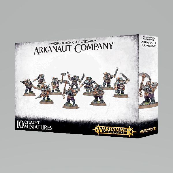 Age of Sigmar Kharadron Overlords Arkanaut Company