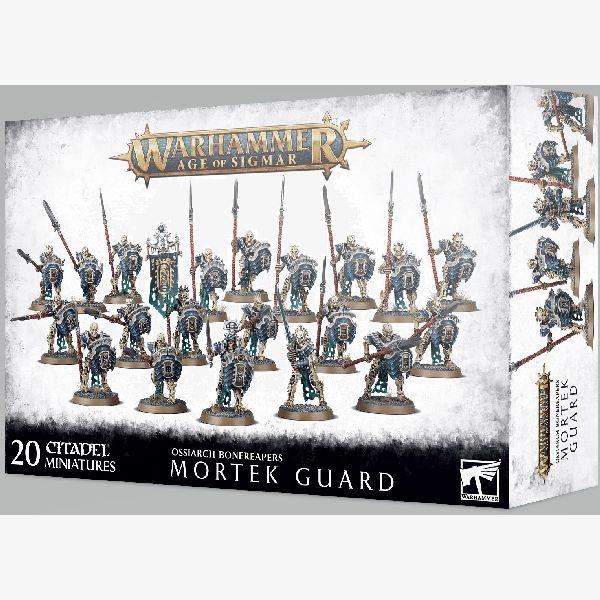 Age of Sigmar Ossiarch Bonereapers Mortek Guard
