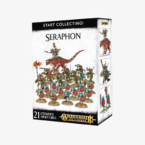 Age of Sigmar Seraphon Start Collecting