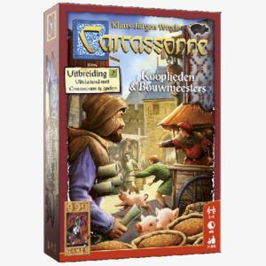 Carcassonne Uitbreiding 2 Kooplieden en Bouwmeesters