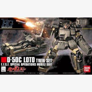 D-50C Loto (Twin set) HGUC 1:144 scale model