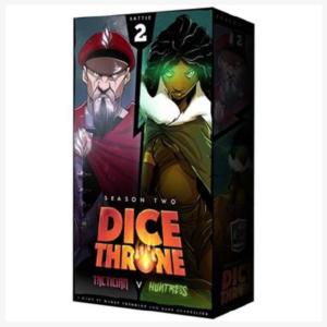 Dice Throne Season 2 Box 2, tactician vs Huntress