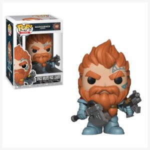 Funko POP Games Space Wolves Pack Leader 502