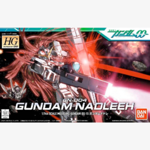 GN-004 Gundam Nadleeh HG00 1:144 scale model