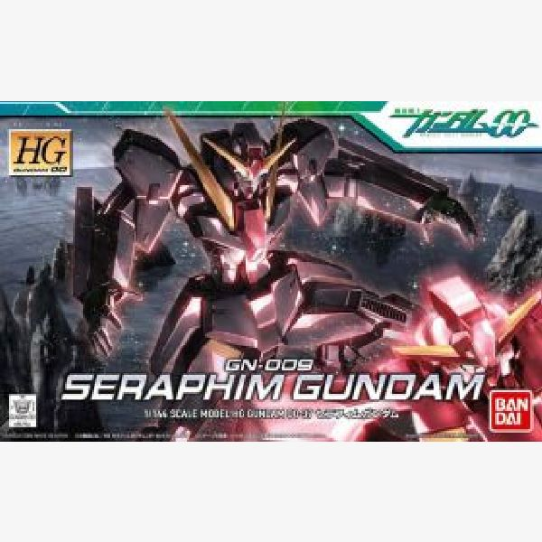 GN-009 Seraphim Gundam HG00 1:144 scale model