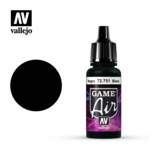 Game Air Acrylic Color Black