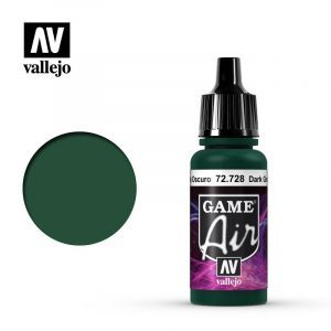 Game Air Acrylic Color Dark Green