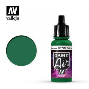 Game Air Acrylic Color Sick Green