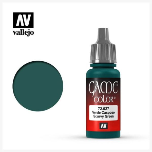 Game Color Acrylic Color Scurvy Green
