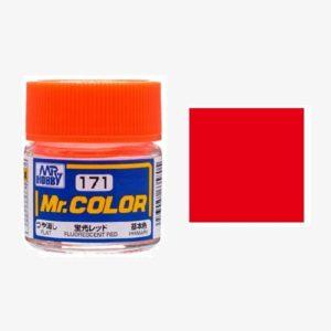 Gundam Color Fluorescent Red
