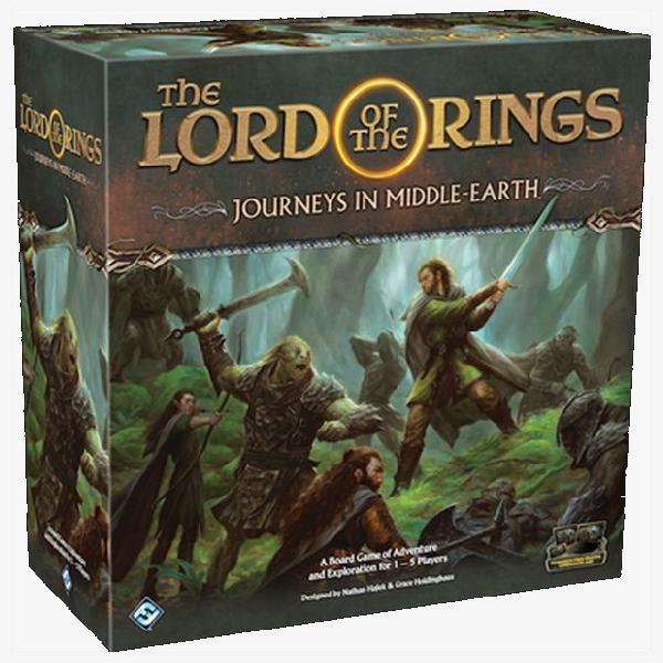 Lord of the Rings Journeys in middle earth Bordspel Engelstalig