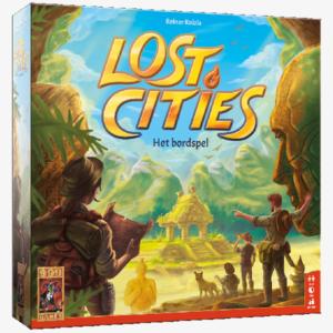 Lost cities Het Bordspel Nederlandstalig