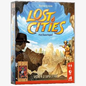 Lost cities kaartspel