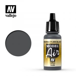Model Air Acrylic Color Black Grey RLM66