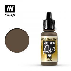 Model Air Acrylic Color Cam. Medium Brown
