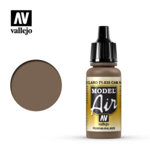 Model Air Acrylic Color Cam. Pale Brown