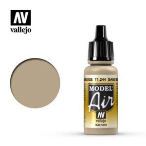 Model Air Acrylic Color Camouflage Sandbeige Ral 1039