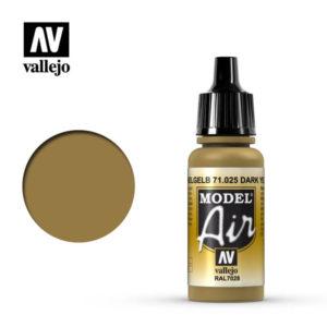 Model Air Acrylic Color Dark Yellow