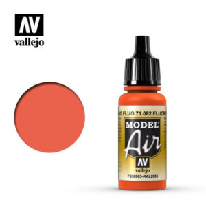 Model Air Acrylic Color Fuorescent Red