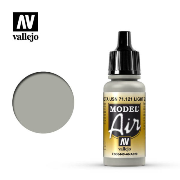 Model Air Acrylic Color Light Gull grey