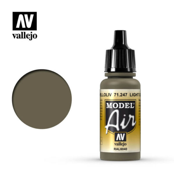 Model Air Acrylic Color Light Olive RAL6040