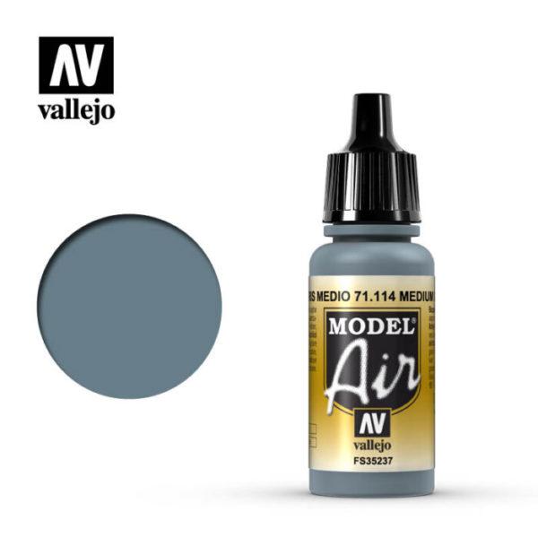 Model Air Acrylic Color Medium Grey