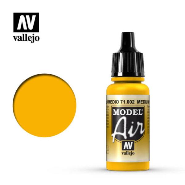 Model Air Acrylic Color Medium Yellow