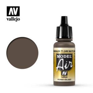 Model Air Acrylic Color NATO Brown