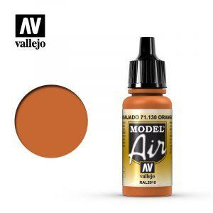 Model Air Acrylic Color Orange Rust