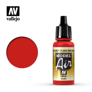 Model Air Acrylic Color Red RLM23