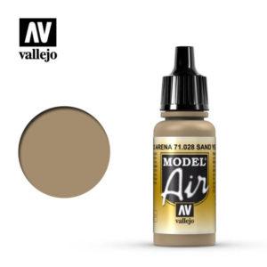 Model Air Acrylic Color Sand Yellow