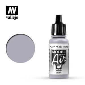 Model Air Acrylic Color Silver RLM01