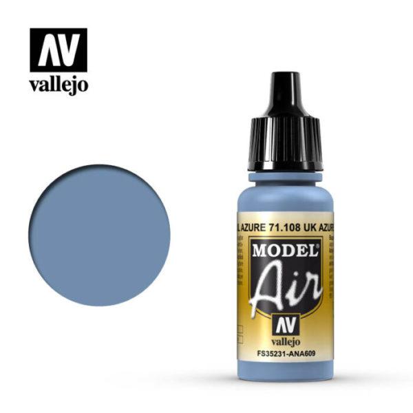 Model Air Acrylic Color UK Azure Blue