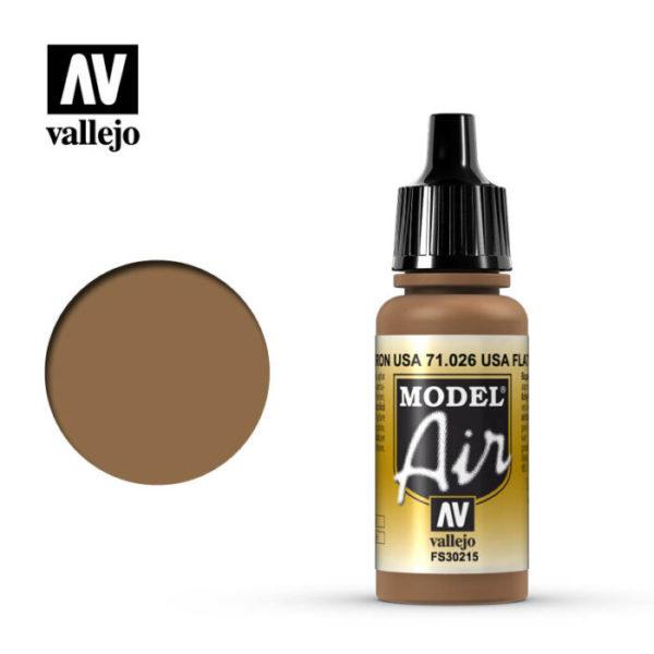Model Air Acrylic Color USA Flat Brown