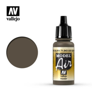 Model Air Acrylic Color US Olive Drab