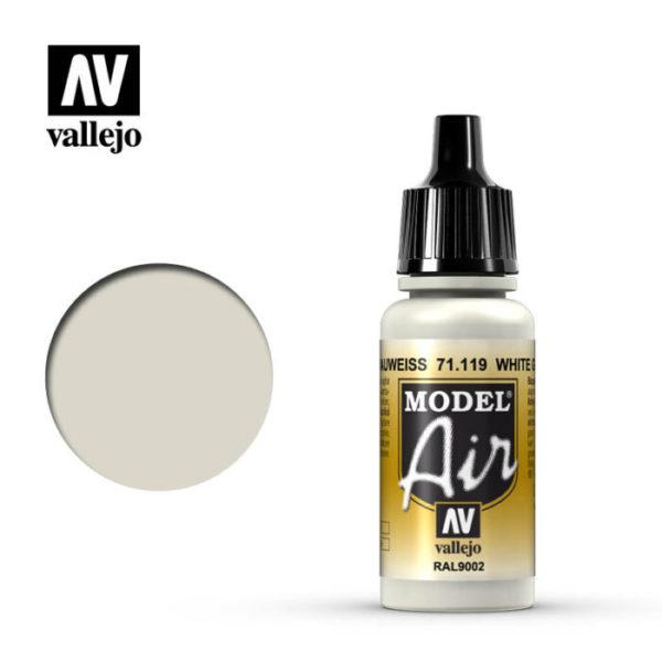 Model Air Acrylic Color White Grey