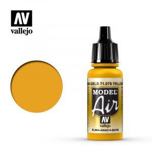 Model Air Acrylic Color Yellow RLM04