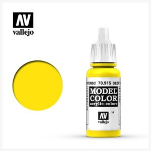 Model Color Acrylic Color Deep Yellow