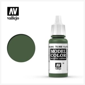 Model Color Acrylic Color Flat Green