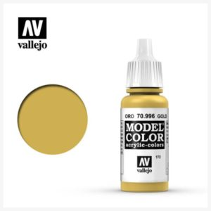 Model Color Acrylic Color Gold