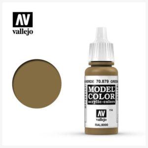Model Color Acrylic Color Green Brown