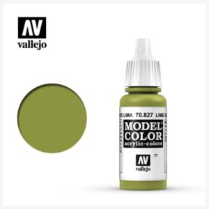 Model Color Acrylic Color Lime Green